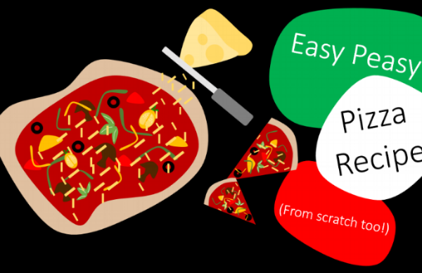 Easy Peasy Pizza